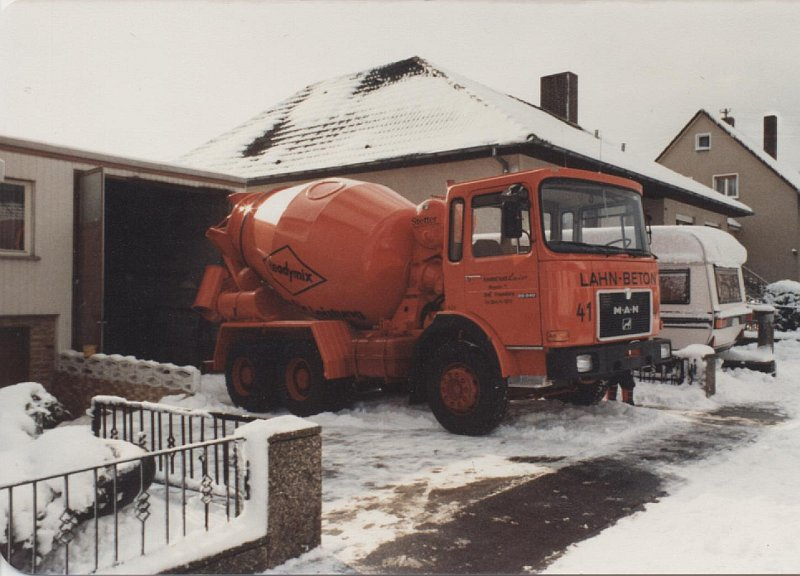 Zementmischer